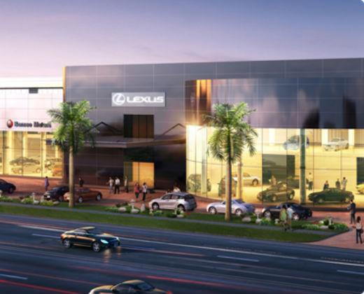 A&A to Toyota Showroom at Leng Kee